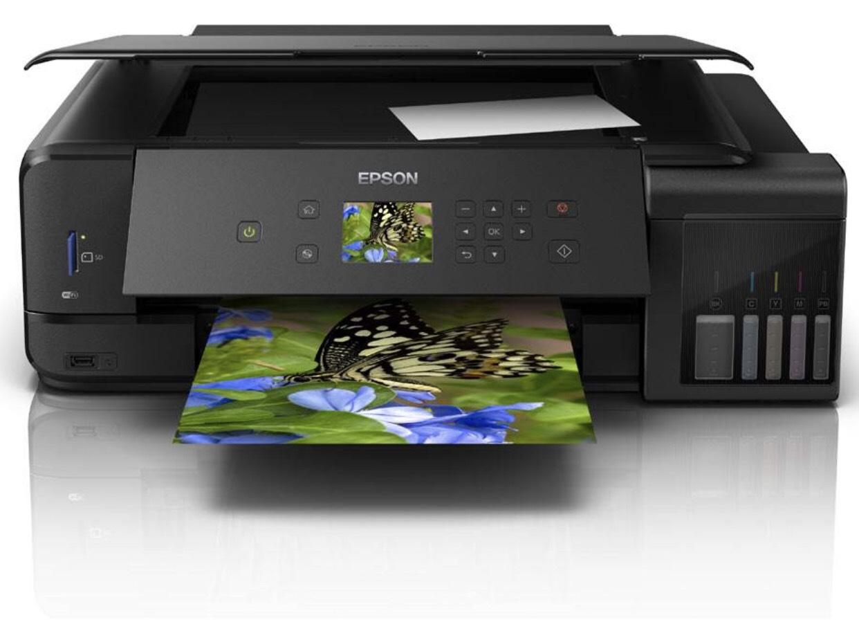 Imprimante 3 en 1 Epson Ecotank ET-7750