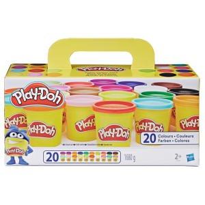 20 pots de pâte à modeler Play-Doh