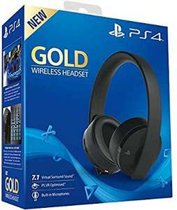 Casque sans fil Sony PlayStation - Gold