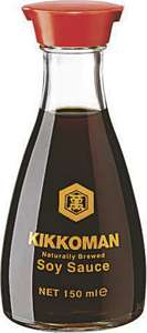 2 Sauces Soja Kikoman - 150ml (via Fidall)