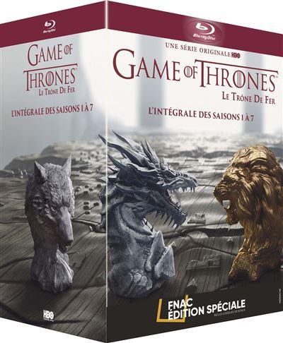 Coffret Blu-ray Game of Thrones - L'Intégrale des Saisons 1 à 7 Édition Spéciale Fnac