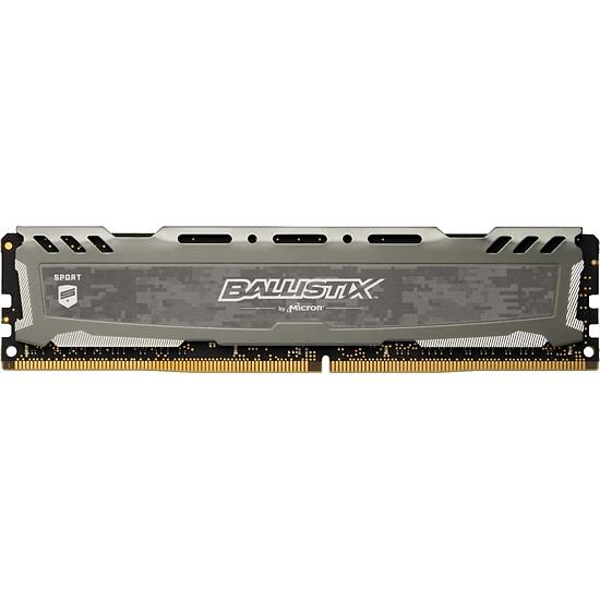 Barrette de Mémoire Ballistix Sport LT DDR4 - 8 Go (3000 MHz CAS 15 SR)