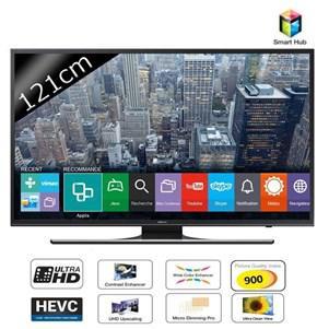 """TV LED 48"""" Samsung UE48JU6400 - Smart TV, UHD (+ 2 bons d'achat de 50€)"""