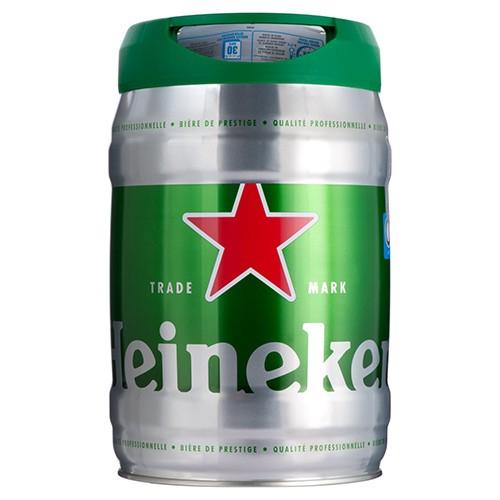 Lot de 2 Fûts de Bière Heineken - 2 x 5L