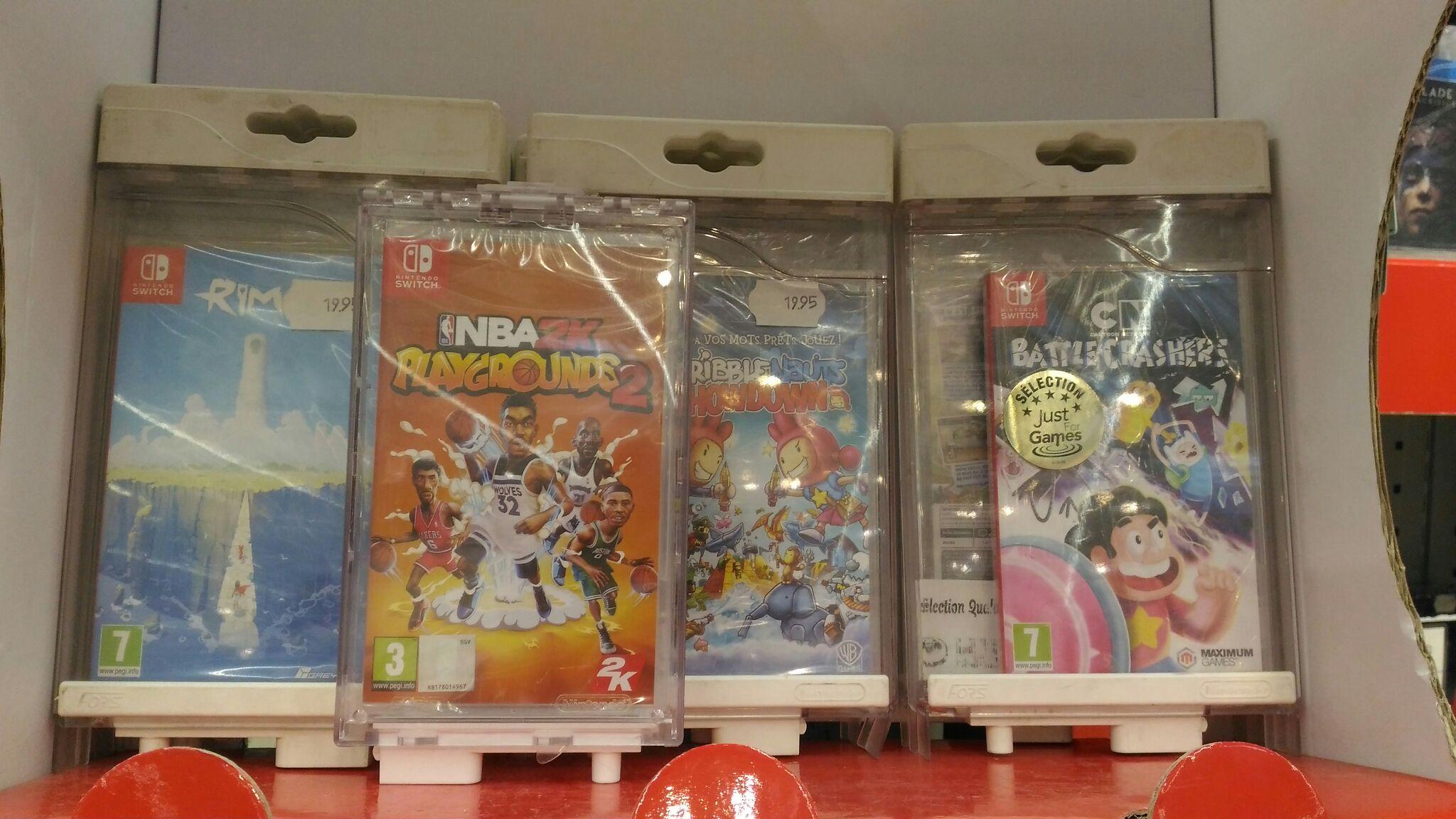 Sélection de jeux vidéo sur Switch en promotion - Ex : NBA Playgrounds 2 - Liévin (62)