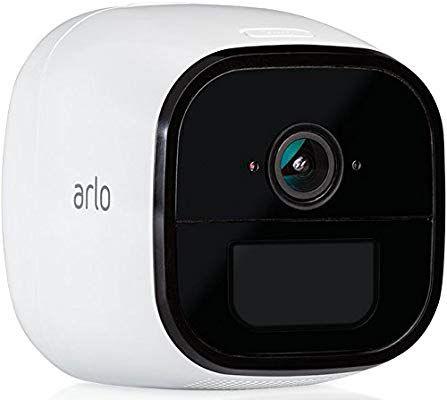Caméra de surveillance sans-fil Arlo Go 4G - Vision Nocturne HD, Son Bidirectionnel