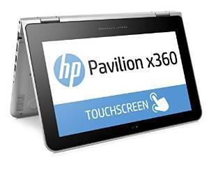 """PC portable tactile 11"""" HP Pavilion x360 11-k000nf (Celeron N3050 1.6 Ghz, 4 Go RAM, 500 Go)"""