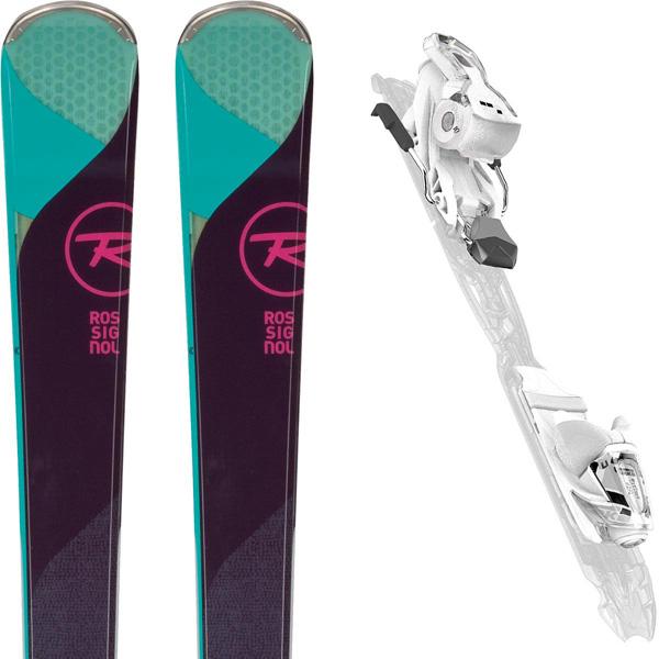 Paire de Ski Rossignol Temptation 77 + Xpress W 10 B83 White Sparkle 2018