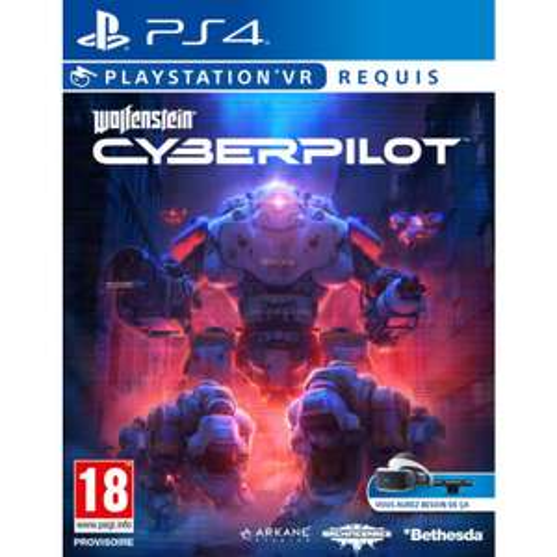 Wolfenstein II Cyberpilot VR sur PS4