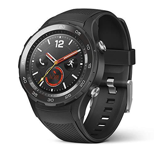 Montre Connectée Huawei Watch 2 - 4G, Noir