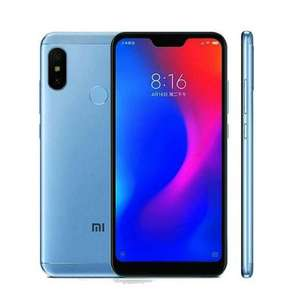 "Smartphone 5.84"" Xiaomi Mi A2 Lite (Version global - B20) - RAM 4Go, 64 Go, Bleu"