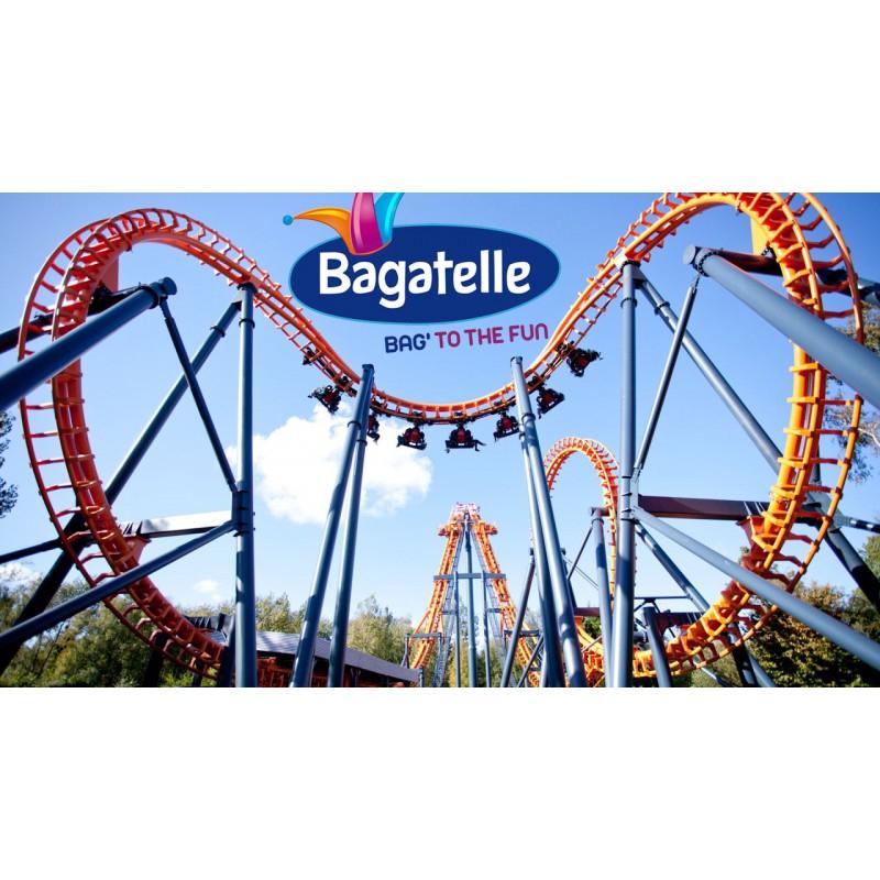 1 Entrée pour 1 Personne de plus d'1m45 pour le Parc Bagatelle valable jusqu'au 7 Juillet 2019 - Merlimont (62)
