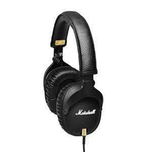 Casque audio avec microphone Marshall Monitor - Noir