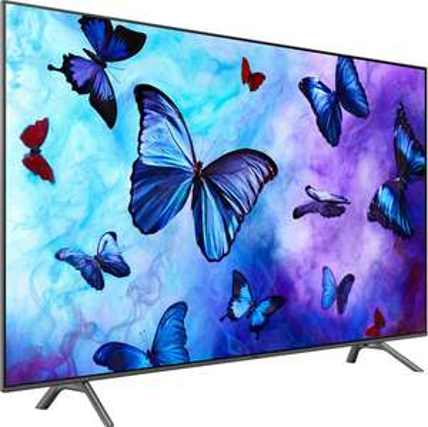"TV 65"" Samsung QE65Q6F 2018 - QLED, 4K UHD, HDR 10+, Dalle 100 Hz, 2800 PQI, Smart TV"