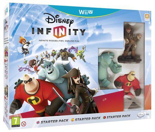 Pack de démarrage Disney Infinity (1.0) sur Wii U