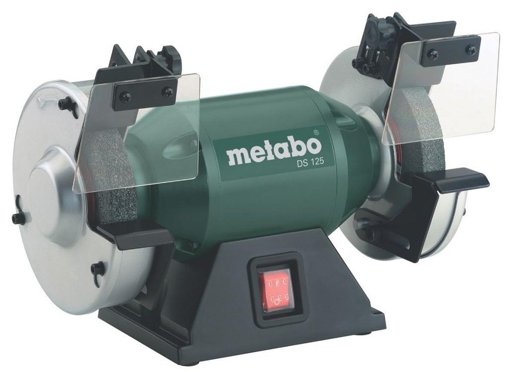 Touret à meuler Metabo DS125 - 200W, Ø125mm, 619125000 (79,97€ avec le code L73C1QVJ)