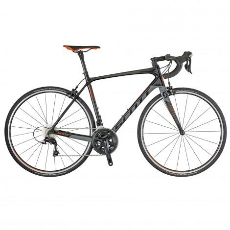 Vélo de route Scott Addict 20 2018 - Shimano 105/Carbone, tailles 52 ou 54 cm (StartFitness.co.uk)