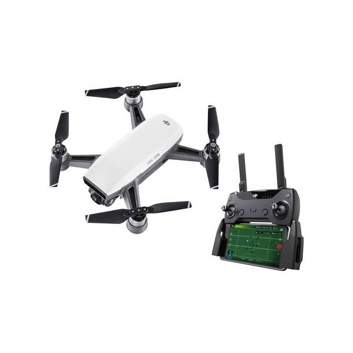 Drone quadricoptère DJI Spark Alpine White + contrôleur Combo (Frontalier Suisse)