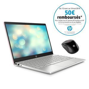 """PC Portable 13,3"""" HP Pavillion 13-an00099nf - Intel Core i7-8565u, 8 Go de RAM, 256 Go SSD + Souris sans-fil (via ODR 50€)"""