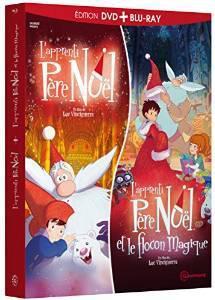 Coffret 2 Films en Blu-ray/DVD : L'Apprenti Père Noël + L'apprenti Père Noël et le flocon magique