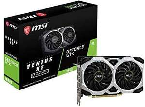 Carte graphique MSI GeForce GTX-1660 Ventus XS OC - 6 Go