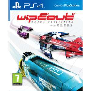 WipEout : Omega Collection sur PS4