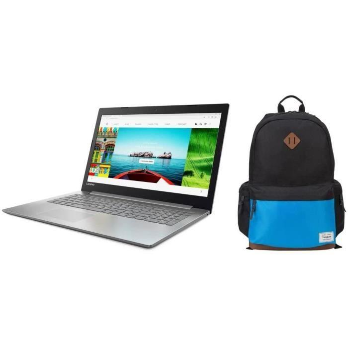 """Pc Portable 15.6"""" Lenovo Ideapad 330-15IKBR - FULL HD - i3-7020U, 8Go RAM, 1To HDD, 128Go SSD + Sac à dos"""