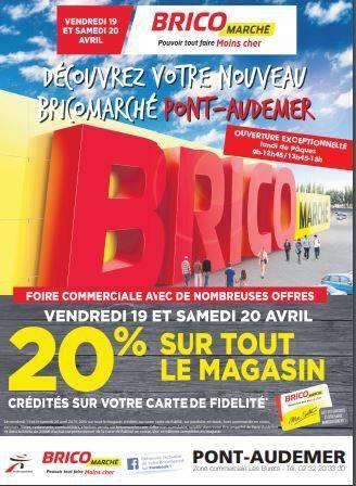 [Carte Fidélité] 20% remboursés sur tout le magasin - Pont-Audemer (27)
