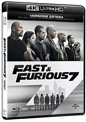 Blu-ray 4K UHD - Fast & Furious 7