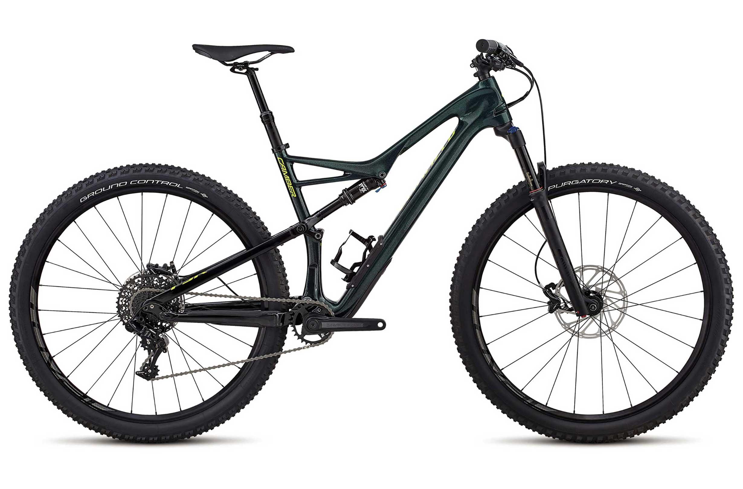VTT Specialized Camber FSR Comp Carbon 29 (Sram GX, Carbone) - 2018 (S,M,L) - evanscycles.com