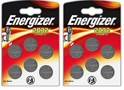 Lot de 12 piles CR2032 Energizer (Vendeur Tiers)