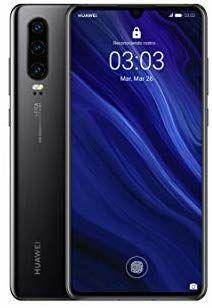 """Smartphone 6.1"""" Huawei P30 - RAM 6Go, ROM 128 Go (Version Espagnole) - Noir"""