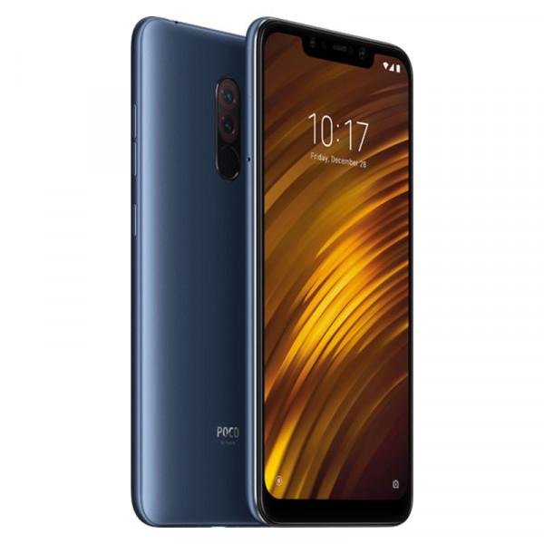 """Smartphone 6.18"""" Xiaomi Pocophone F1 - full HD+, SnapDragon 845, 6 Go de RAM, 64 Go, 4G (B20), Bleu (Mimarket.es)"""
