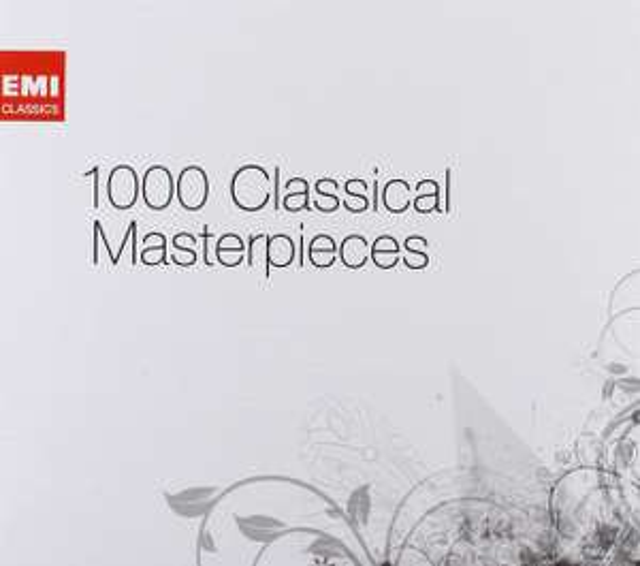 Coffret 61 CD 1000 Classical Masterpieces