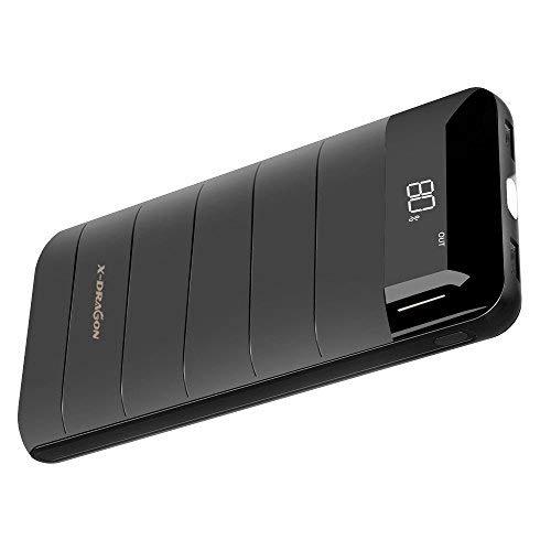 Batterie externe X-Dragon - 20100 mAh, Ecran LCD, Noir (vendeur tiers)