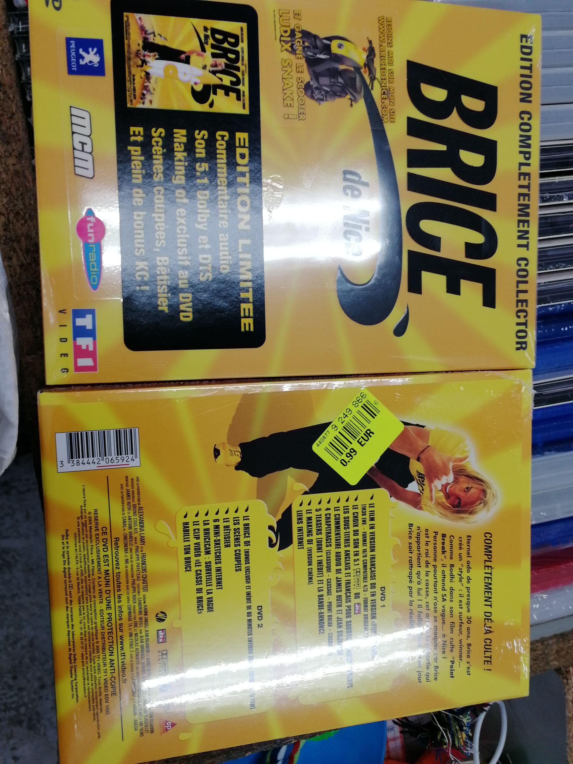 DVD Brice de Nice Edition Limitée - Noz Courrières (62)