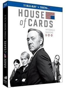 Coffret Blu-ray House of Cards - Intégrale saisons 1-2-3 (+ Copie digitale)