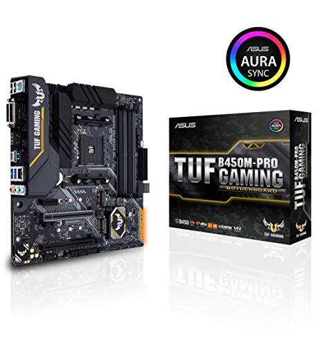 Carte Mère MicroATX Asus TUF B450M-PRO Gaming - Socket AM4