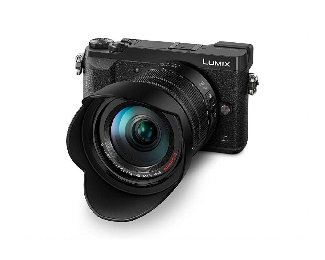 Appareil photo Hybride Panasonic Lumix GX80 noir + Objectif G Vario 14-140 mm