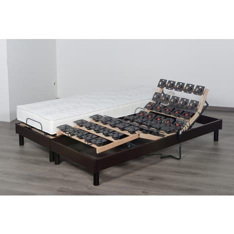 Lit relaxation électrique TPR DORSOFLEX Prestige Collection - Accueil mémoire de forme, 55kg/m3, 160x200cm