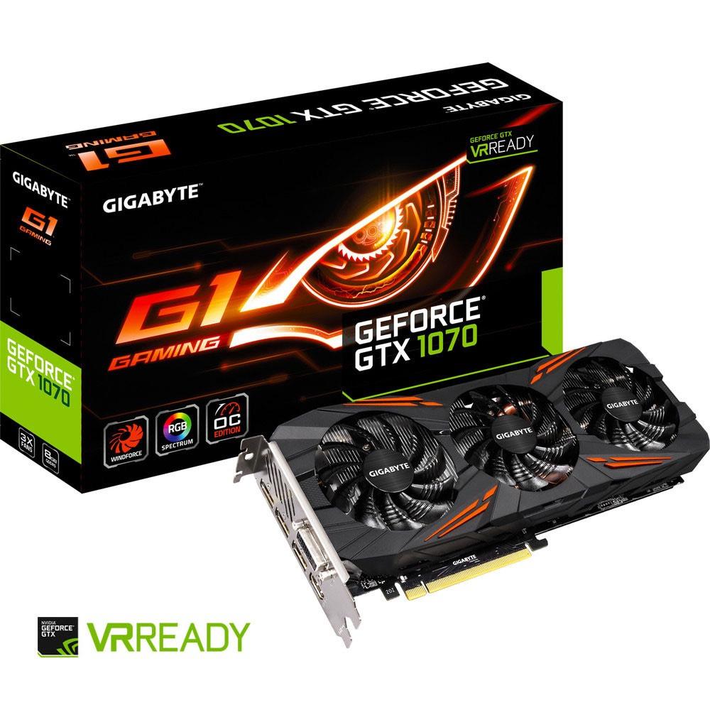Carte Graphique Gigabyte GeForce GTX 1070 G1 GAMING - 8 Go + Bundle Fortnite offert