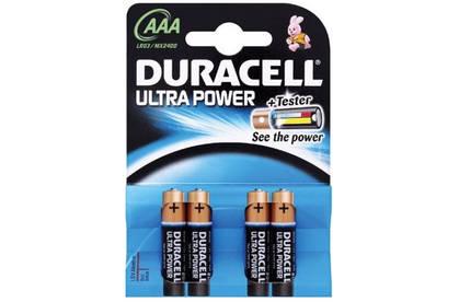 12 piles duracell Ultra power