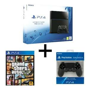 Console Sony PlayStation 4 - 1 To + 2ème manette + GTA 5