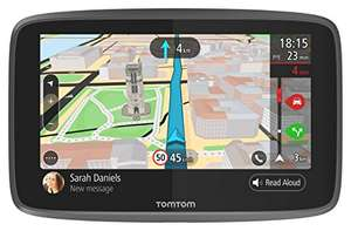 "GPS auto 6"" TomTom Go 6200 - MAJ cartographie + Trafic gratuites à vie"
