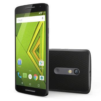 "Smartphone 5.5"" Moto X Play noir ou blanc (4G, 16 Go, Double Nano sim, port micro SD)"