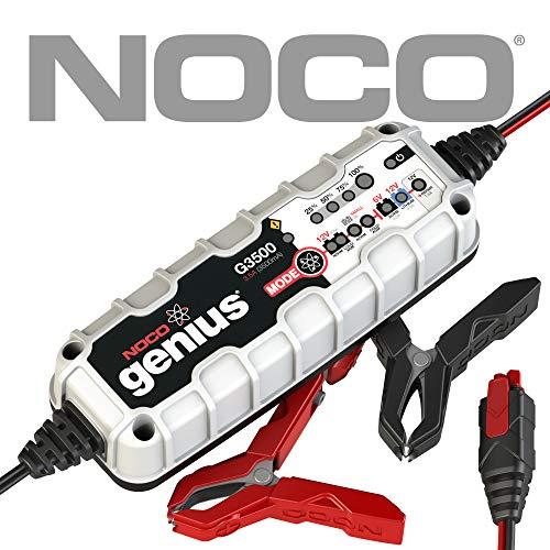 Chargeur de batterie intelligent et mainteneur pour voiture et moto Noco Genius G3500EU - 6V/12V, 3,5 Ampères