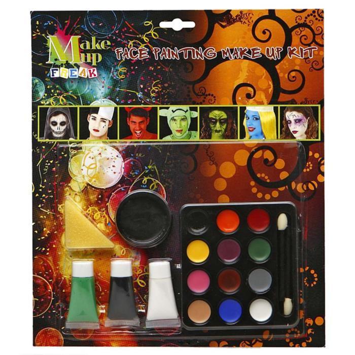 1 set de maquillage offert pour l'achat d'un déguisement