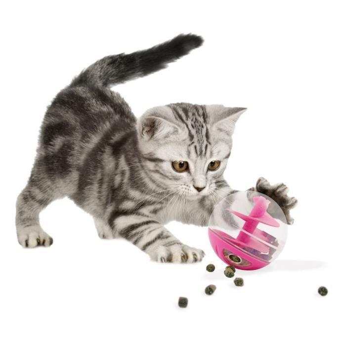[Panier Plus] Balle à friandises pour chat