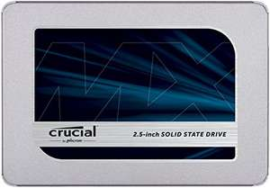 """SSD Interne 2.5"""" Crucial MX500 (3D NAND) - 2 To"""