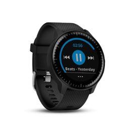 Garmin Vivoactive 3 Music - Montre connectée Sport Avec GPS, Cardio Poignet - Noir (+11.39€ en SuperPoints)